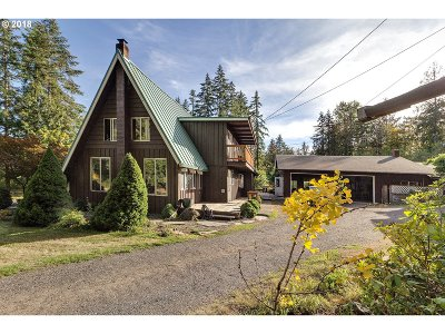 Vernonia Single Family Home For Sale: 18674 Mellinger Rd