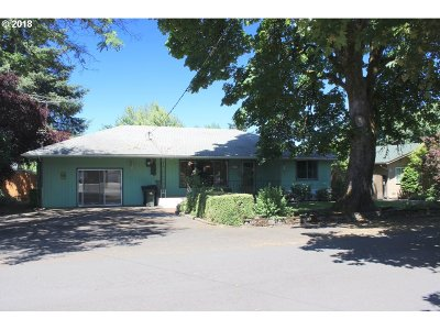 Cottage Grove, Creswell Single Family Home For Sale: 87 N 9th St