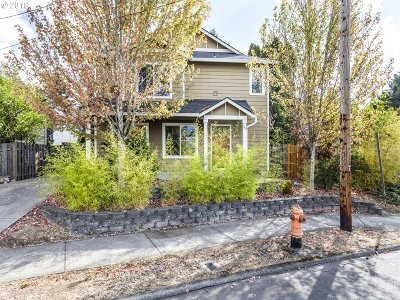 Portland Single Family Home For Sale: 2028 SE 92nd Ave