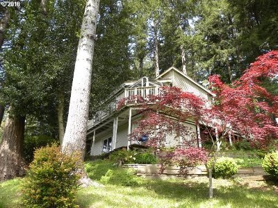 North Bend Single Family Home For Sale: 70656 Majestic Shores Rd