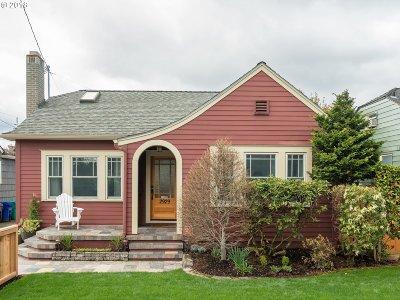 Portland Single Family Home For Sale: 2929 NE 33rd Ave