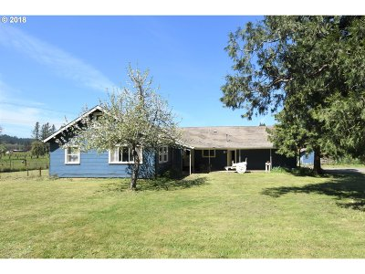 Cottage Grove, Creswell Single Family Home For Sale: 31633 Gowdyville Rd