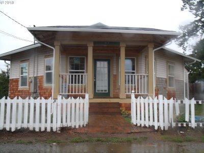 Brookings Single Family Home For Sale: 518 Pine St