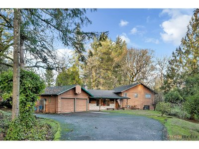 Hillsboro, Cornelius, Forest Grove Single Family Home For Sale: 3760 NW Jackson School Rd