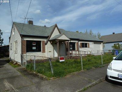 Portland Single Family Home For Sale: 8029 SE Carlton St