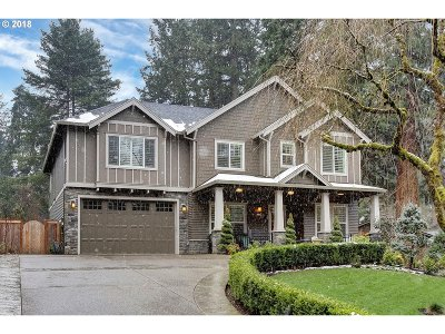 Lake Oswego Single Family Home For Sale: 1144 Bayberry Rd