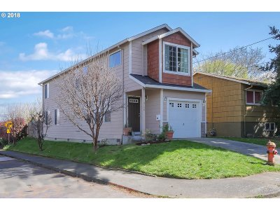 Portland Single Family Home For Sale: 9256 N Chase Ave
