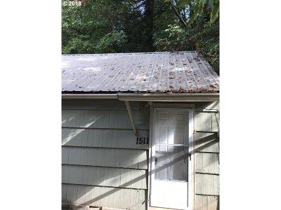 Oregon City Single Family Home For Sale: 1519 Monroe St