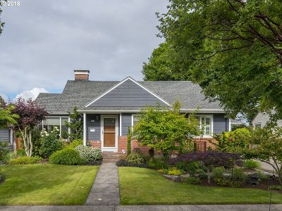 Portland Single Family Home For Sale: 333 SE 48th Ave