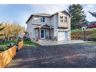 Mulino Single Family Home For Sale: 14765 S Jordan Rd