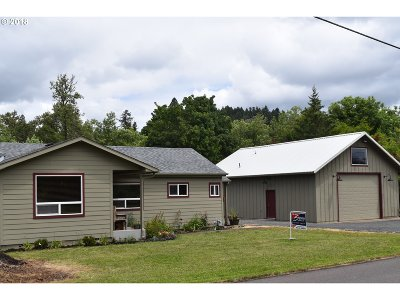 Cottage Grove, Creswell Single Family Home For Sale: 31677 Gowdyville Rd