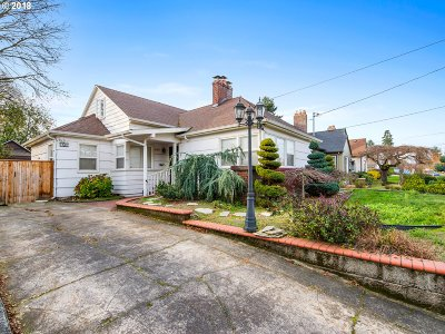 Portland Single Family Home For Sale: 260 N Stafford St
