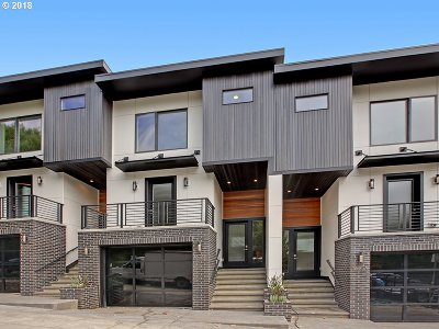 Condo/Townhouse For Sale: 1625 SW Montgomery B St