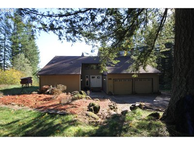 Skamania County, Clark County Single Family Home For Sale: 29229 NE 60th St