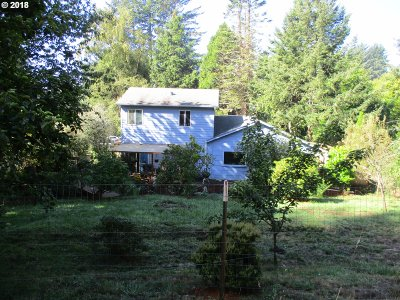 Florence Single Family Home For Sale: 90443 Hwy 101