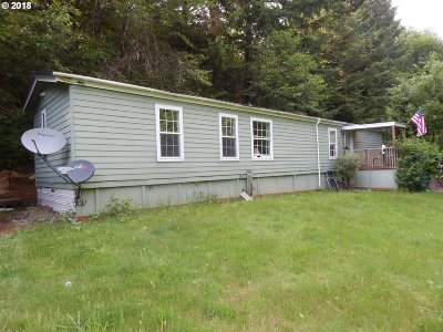 Mapleton Single Family Home For Sale: 11115 North Fork Siuslaw Rd