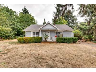 Keizer Single Family Home Sold: 5032 NE 8th Ave