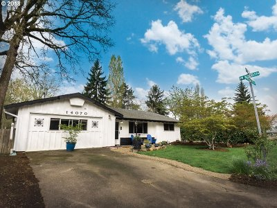 Beaverton Single Family Home For Sale: 14070 SW Todd St