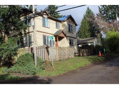Portland Single Family Home For Sale: 4035 SW Baird St