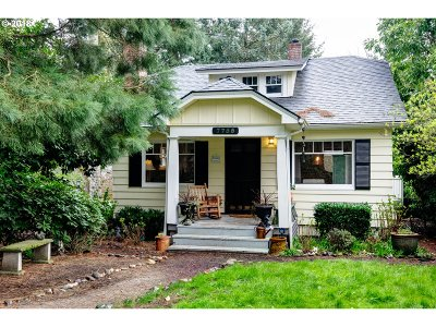 Single Family Home For Sale: 7755 SW Obrien St