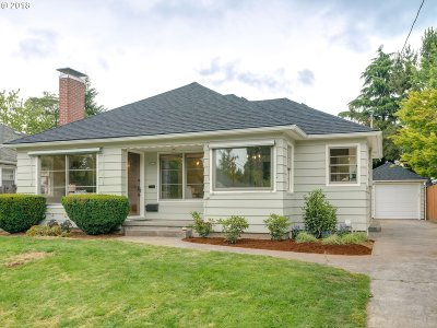 Single Family Home For Sale: 6323 N Oberlin St