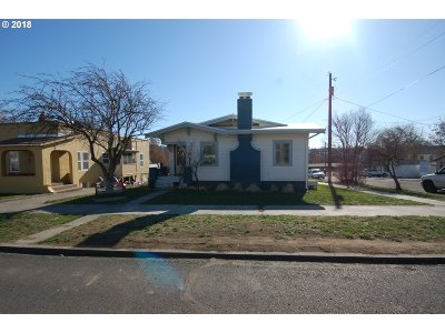 Pendleton Single Family Home For Sale: 714 NW Bailey Ave