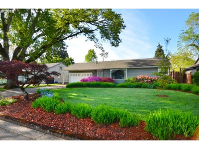 Eugene Single Family Home For Sale: 950 W 16th Ave