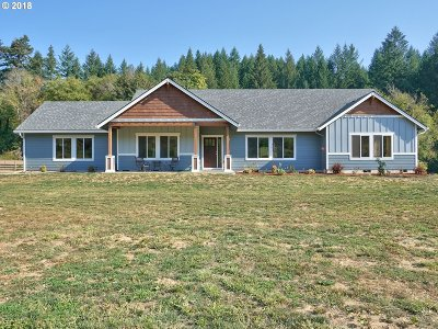 Scappoose Single Family Home For Sale: 27437 Kingsley Rd