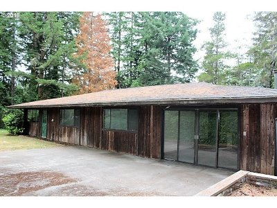 Coos Bay Single Family Home For Sale: 92955 Hill Grade Ln