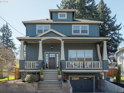 Single Family Home For Sale: 3734 SE Tenino St