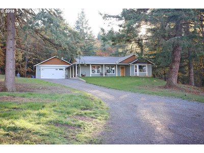 Molalla Single Family Home For Sale: 14980 S Teasel Creek Rd