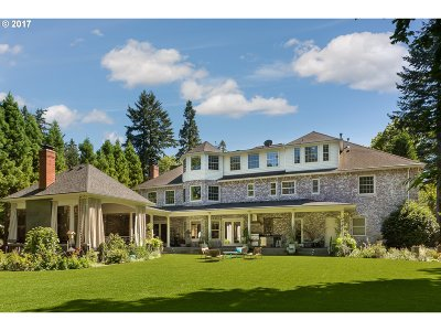 , Portland, West Linn, Lake Oswego Single Family Home For Sale: 01415 SW Military Rd