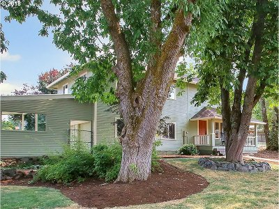 Beaverton Single Family Home For Sale: 16670 SW Wright St