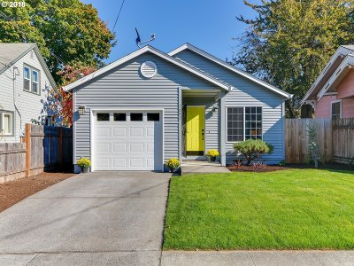 Multnomah County Single Family Home For Sale: 7842 N Wabash Ave