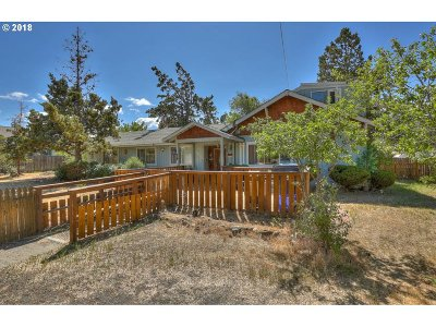 Bend Single Family Home For Sale: 1933 NW Hill St