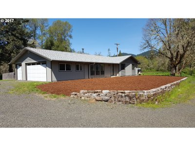 Winston Single Family Home For Sale: 1561 Olalla Rd