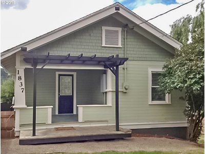 Roseburg Single Family Home For Sale: 1837 NE Klamath Ave