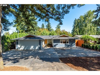 Single Family Home For Sale: 12900 SE 32nd Ave