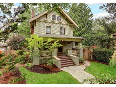 Single Family Home For Sale: 5835 NE Mallory Ave