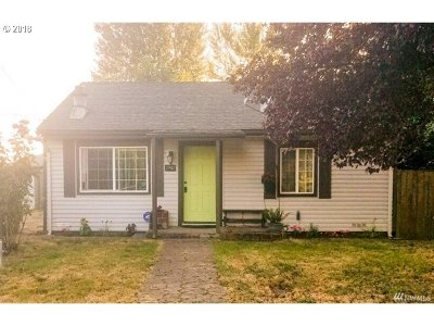 Vancouver Single Family Home For Sale: 2902 Weigel Ave