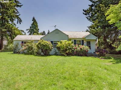 Vancouver Single Family Home For Sale: 2905 NW 119th St