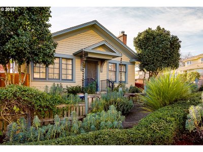 Eugene Single Family Home For Sale: 48 W 23rd Ave