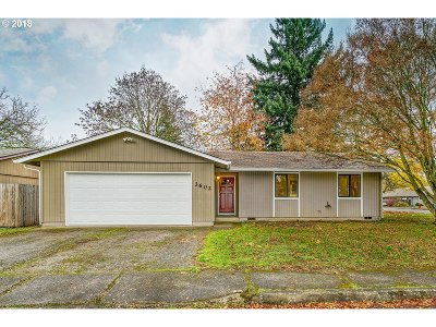 Keizer Single Family Home Sold: 3602 Cherrylawn Ct NE