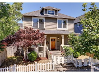 Portland OR Single Family Home Pending: $499,000