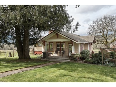 Yamhill Single Family Home For Sale: 22645 NW Mount Richmond Rd