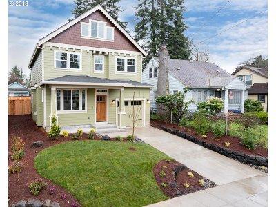 Single Family Home For Sale: 922 N Farragut St