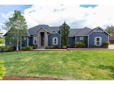 Mulino Single Family Home For Sale: 29200 S Marshall Rd