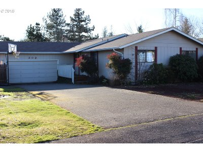 Cottage Grove, Creswell Single Family Home For Sale: 309 Meadow Ln