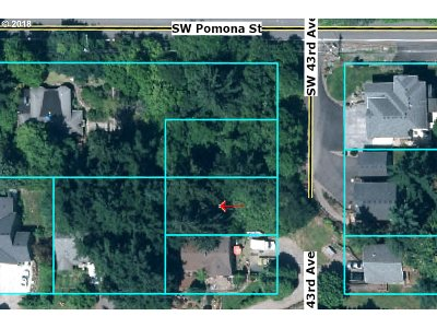 Portland Residential Lots & Land For Sale: 02 SW 43rd Ave
