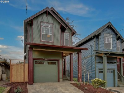 Portland Single Family Home For Sale: 5437 NE 37th Ave